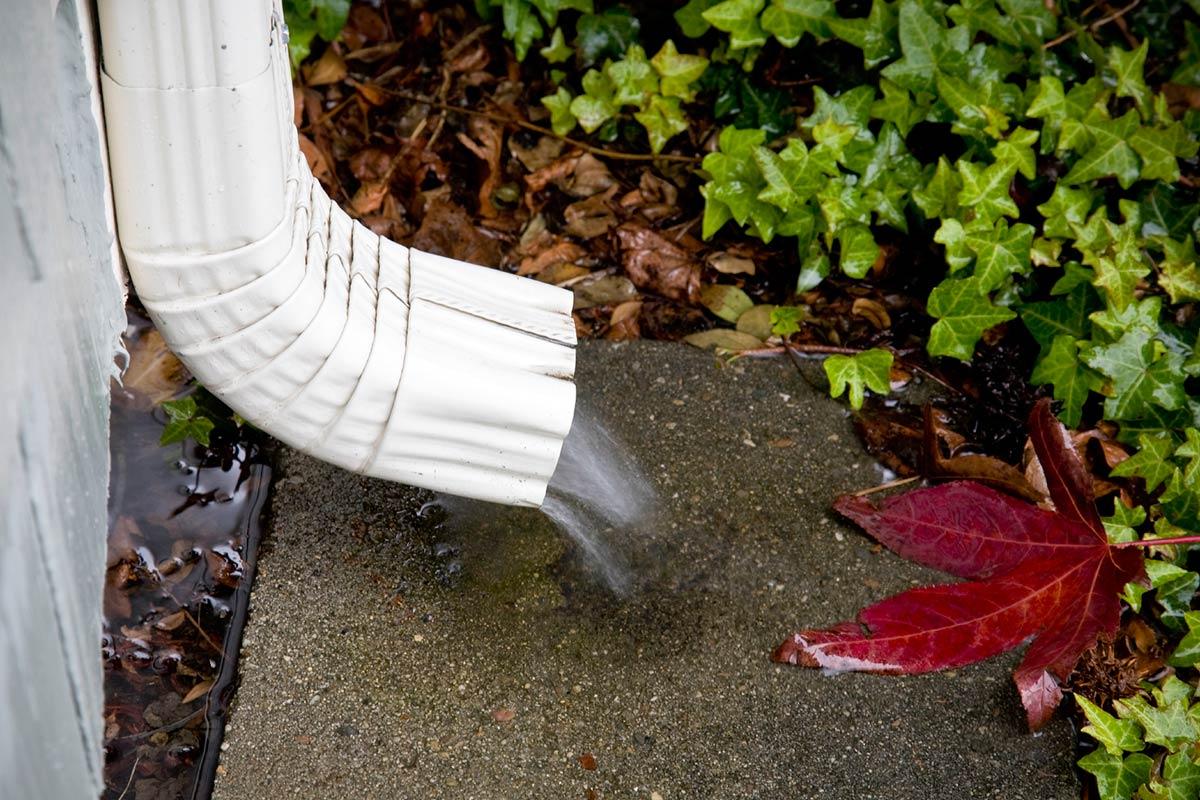 Downspouts for Rain Gutters