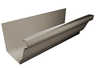 """K"" or ""O/G"" Style Seamless Gutter Profile in 5"" & 6"""