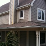 "5"" Ogee or K Style Seamless Gutters with 3"" Round Downspouts"