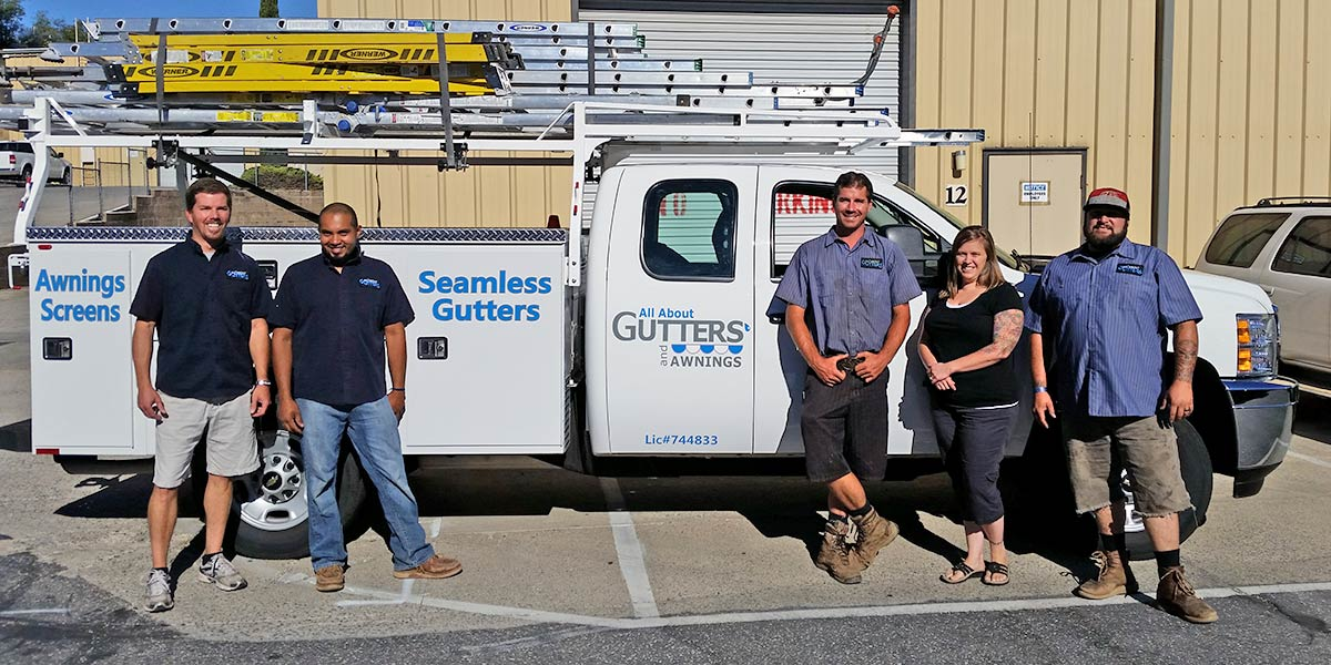 All About Gutters & Awnings Team