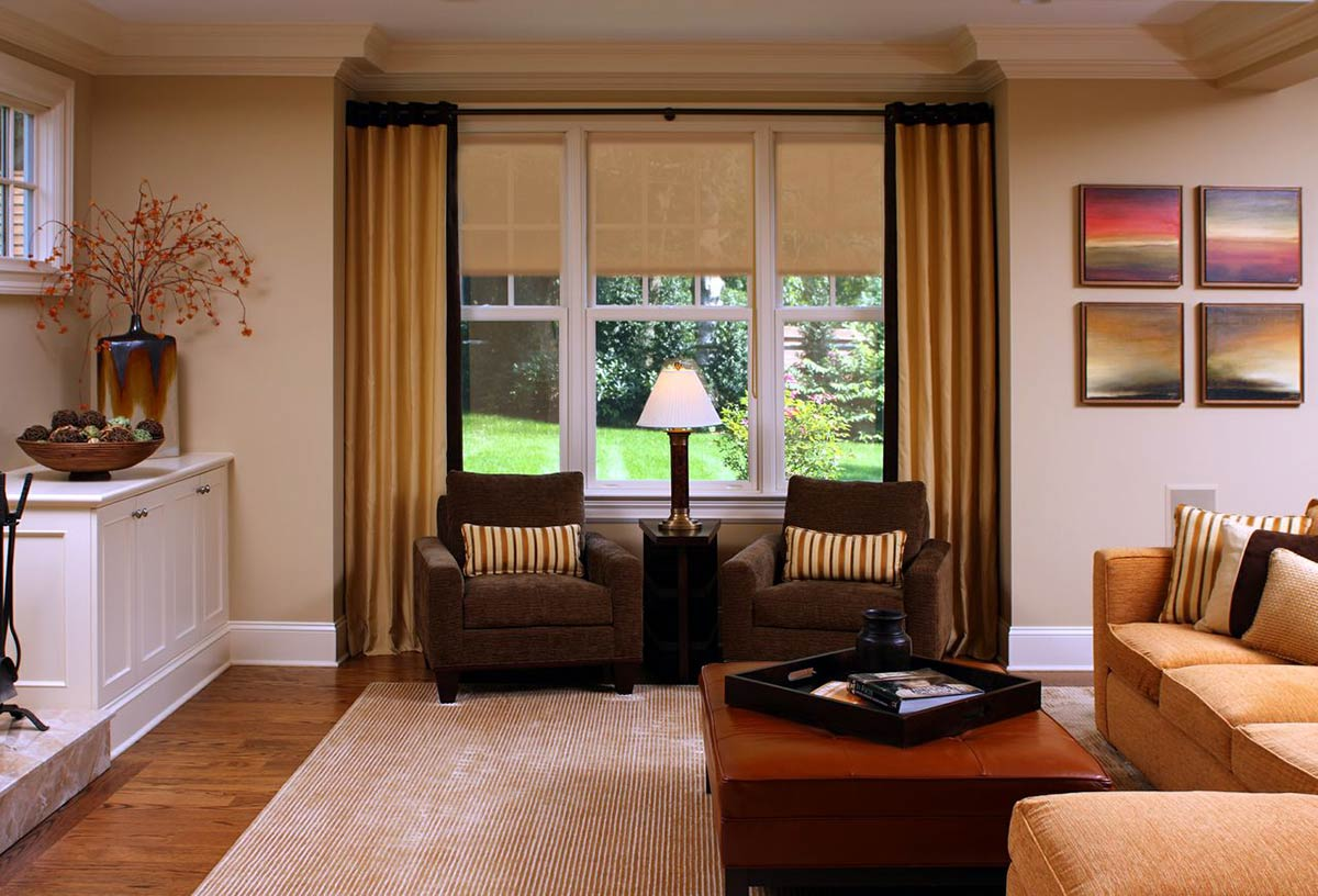 Interior shades protect your home and furniture.