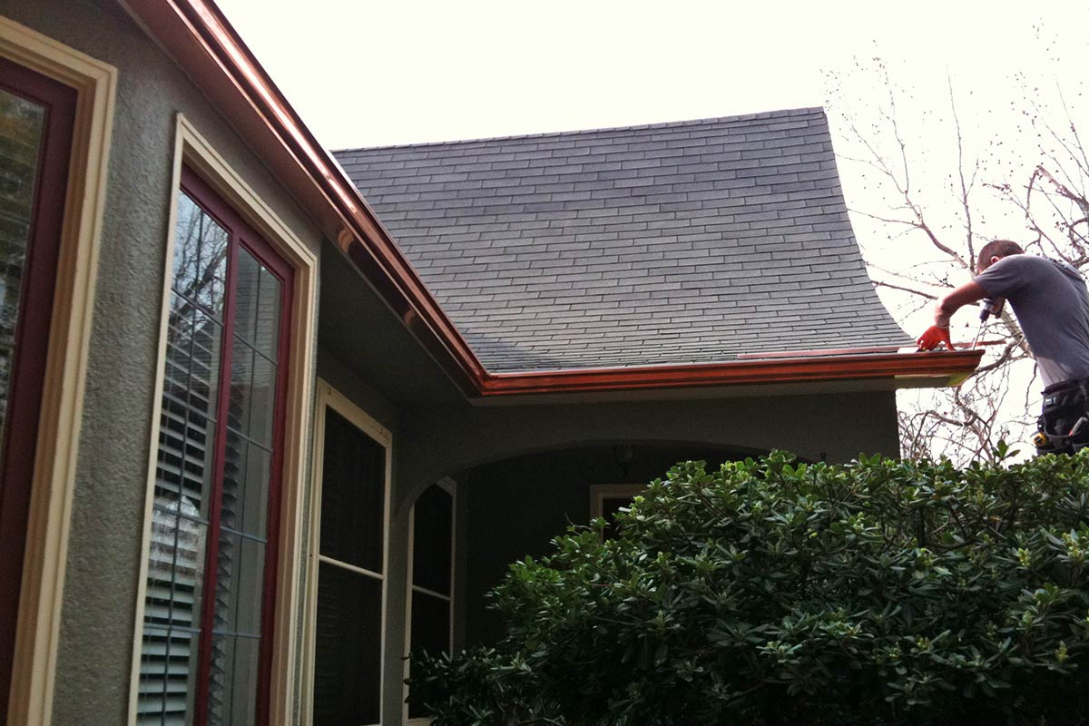 5 Quot Ogee Or K Style Seamless Gutters All About Gutters