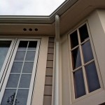 Downspout with Seamless Gutters